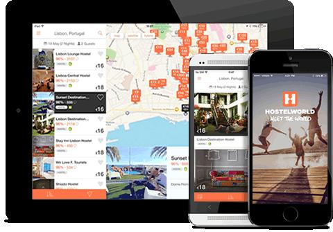 HostelWorld Mobile App