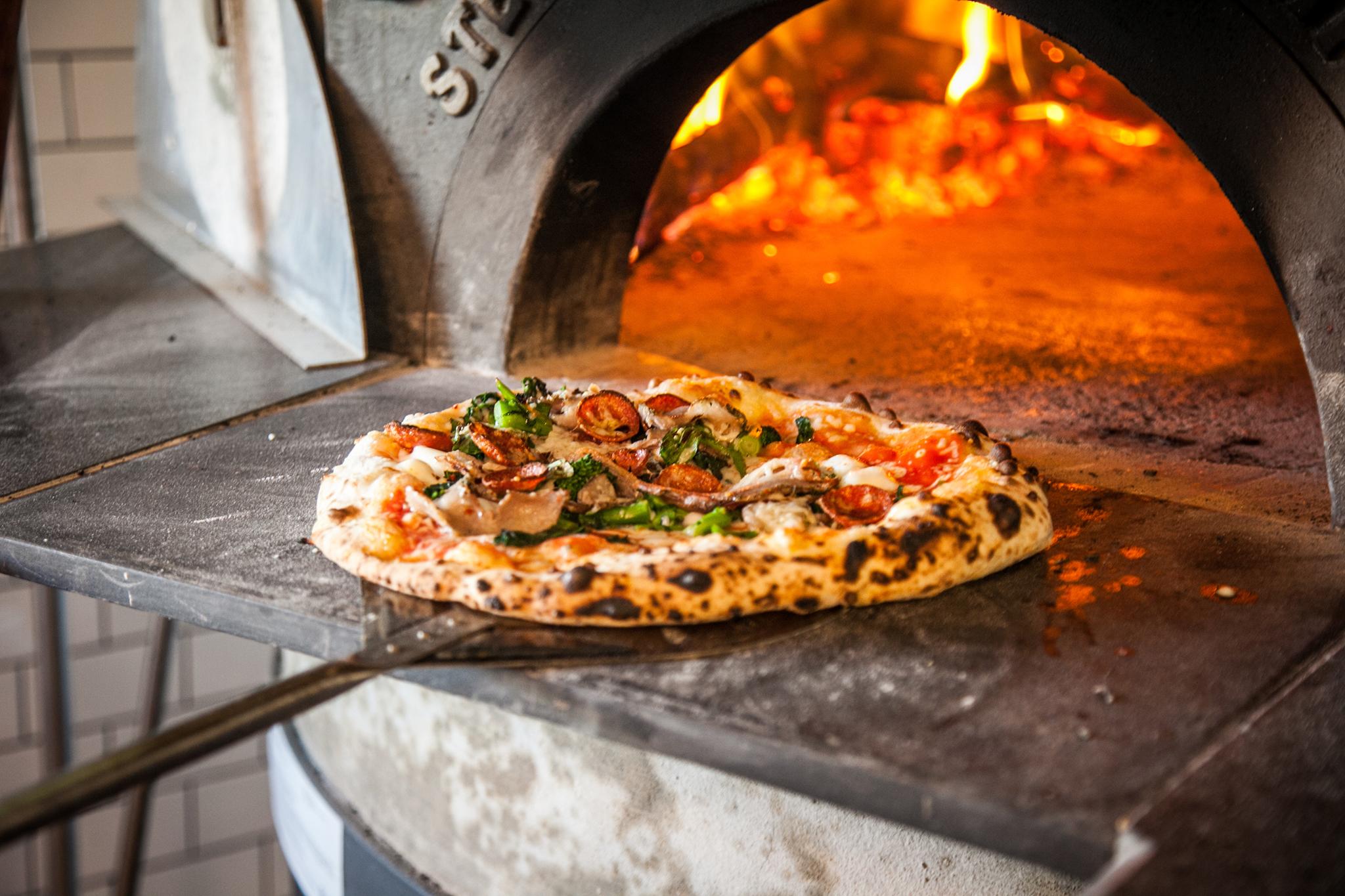Pizza Italiana en Horno