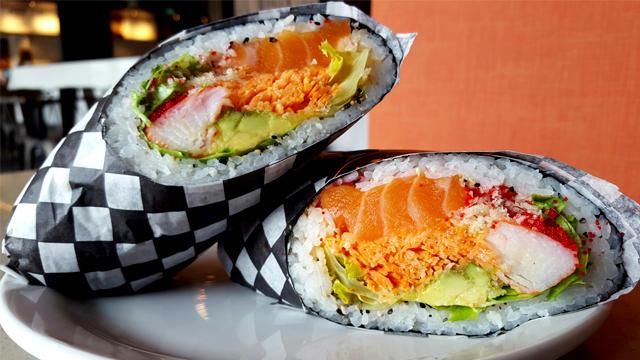 Sushi Burrito en Estados Unidos