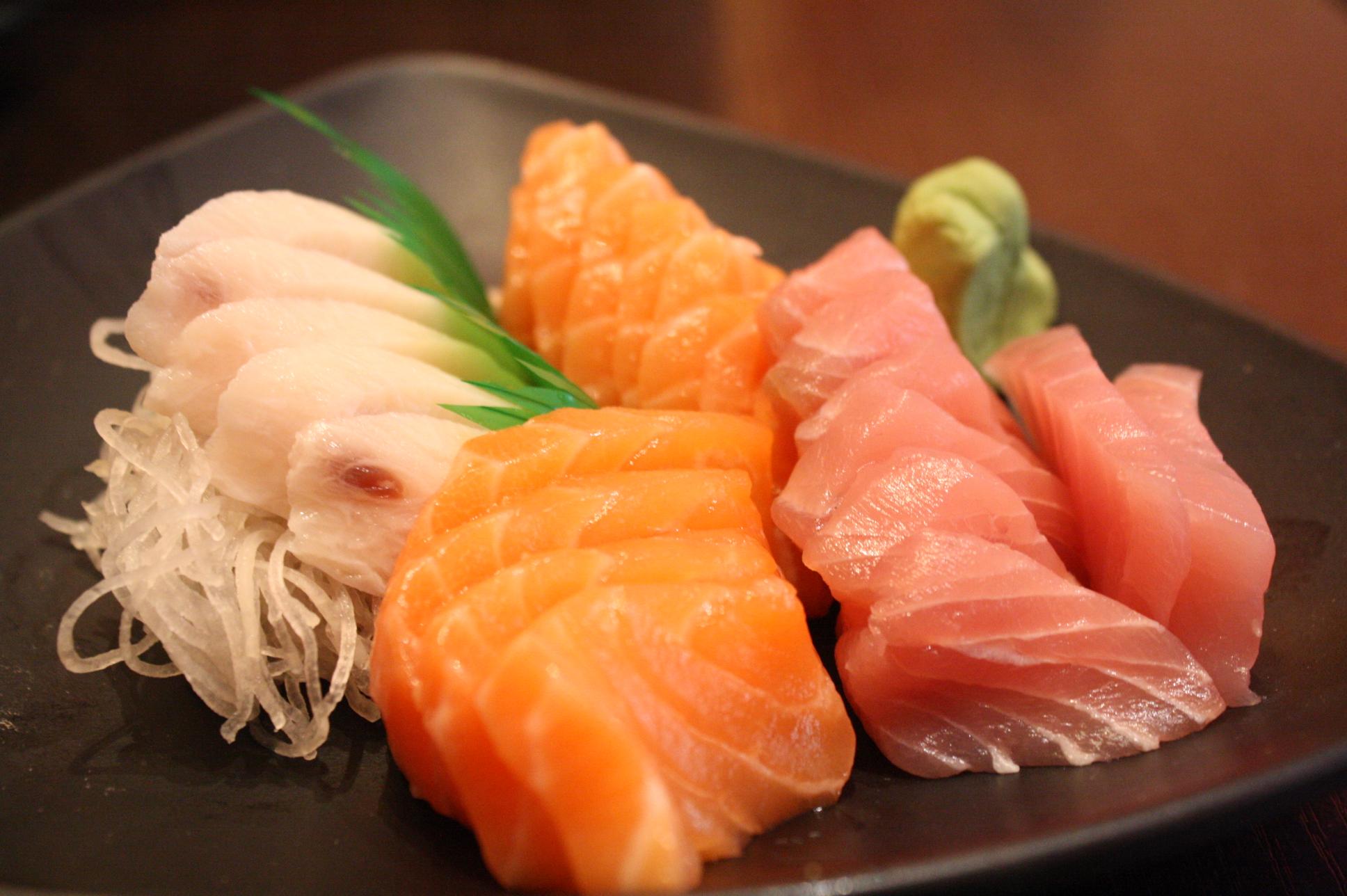 Sashimi en Japón