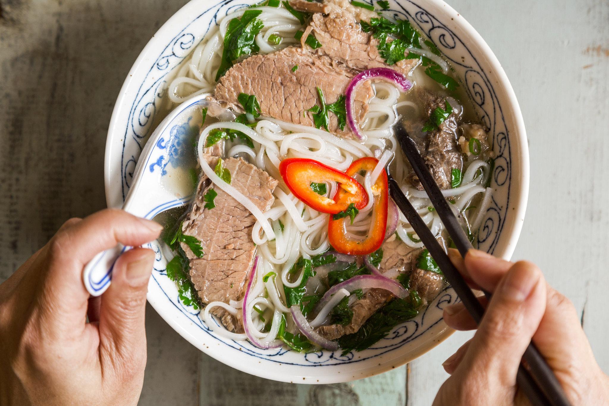 Pho en Vietnam