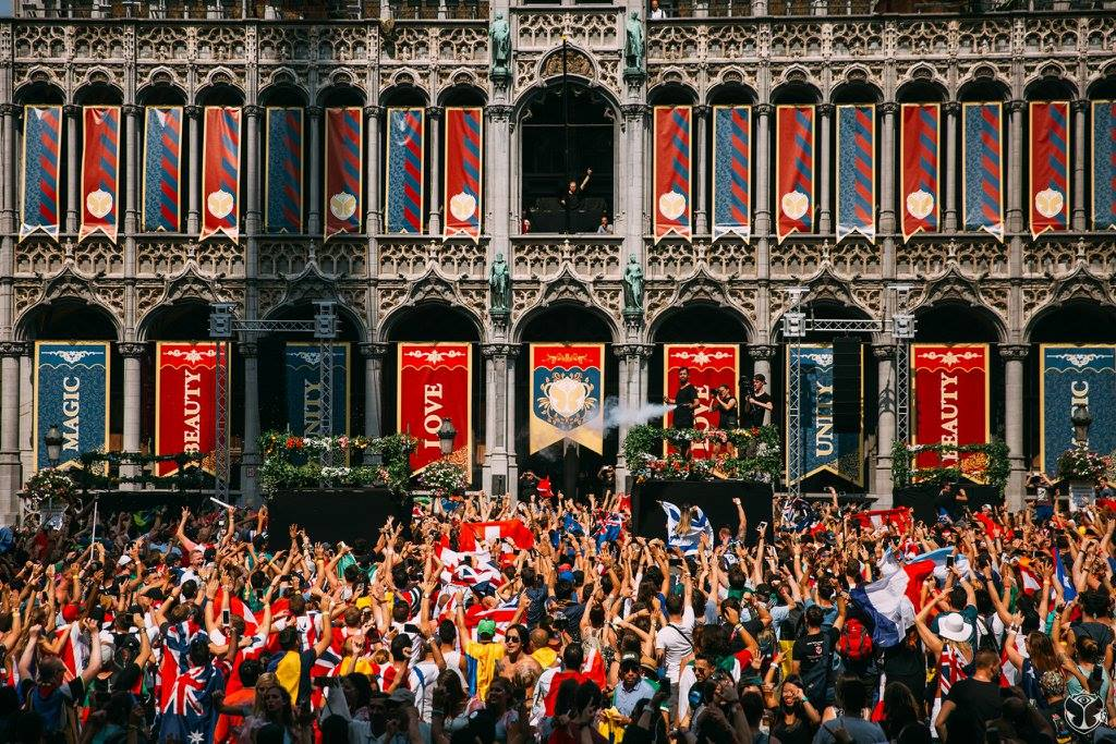Brussels Tomorrowland Party