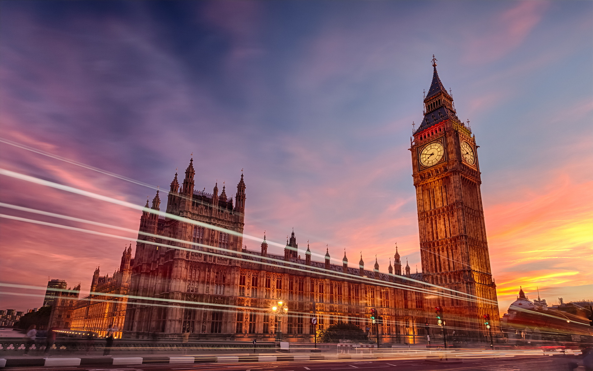 Palace of Westminster and the Big Ben
