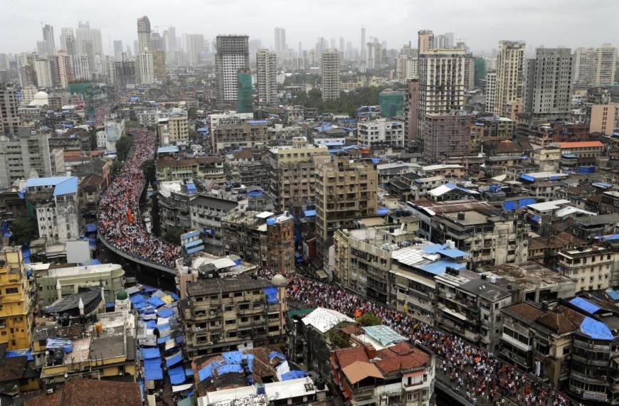 Protest in Mumbai, India