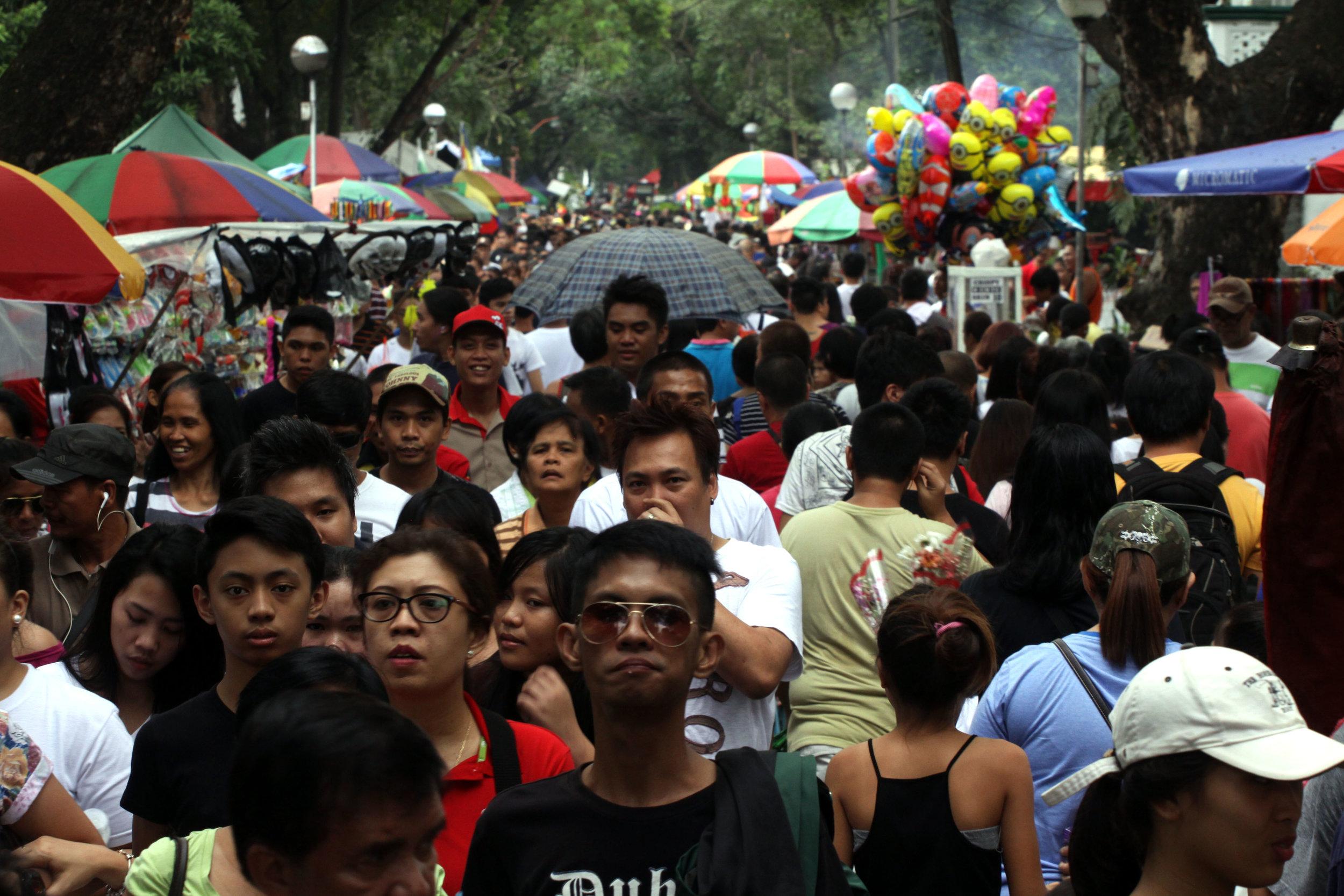 Día Festivo en Manila, Filipinas