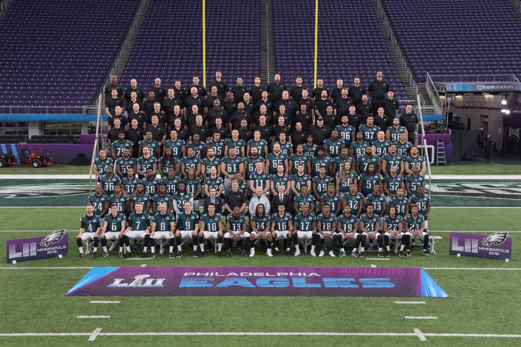 Philadelphia Eagles Team of 2017-2018