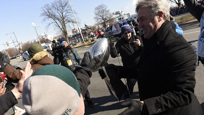 Lombardy with eagles fans