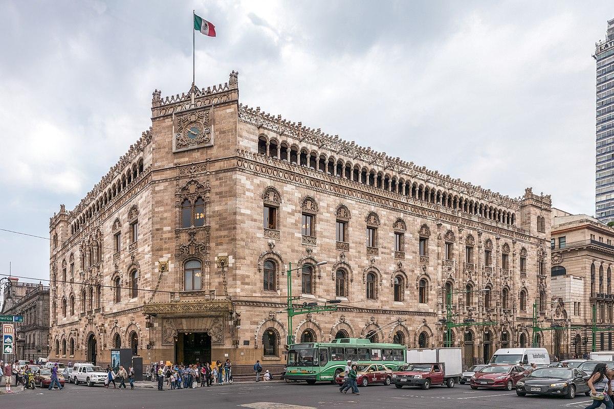 Correo Mayor, Postal Palace of Mexico City
