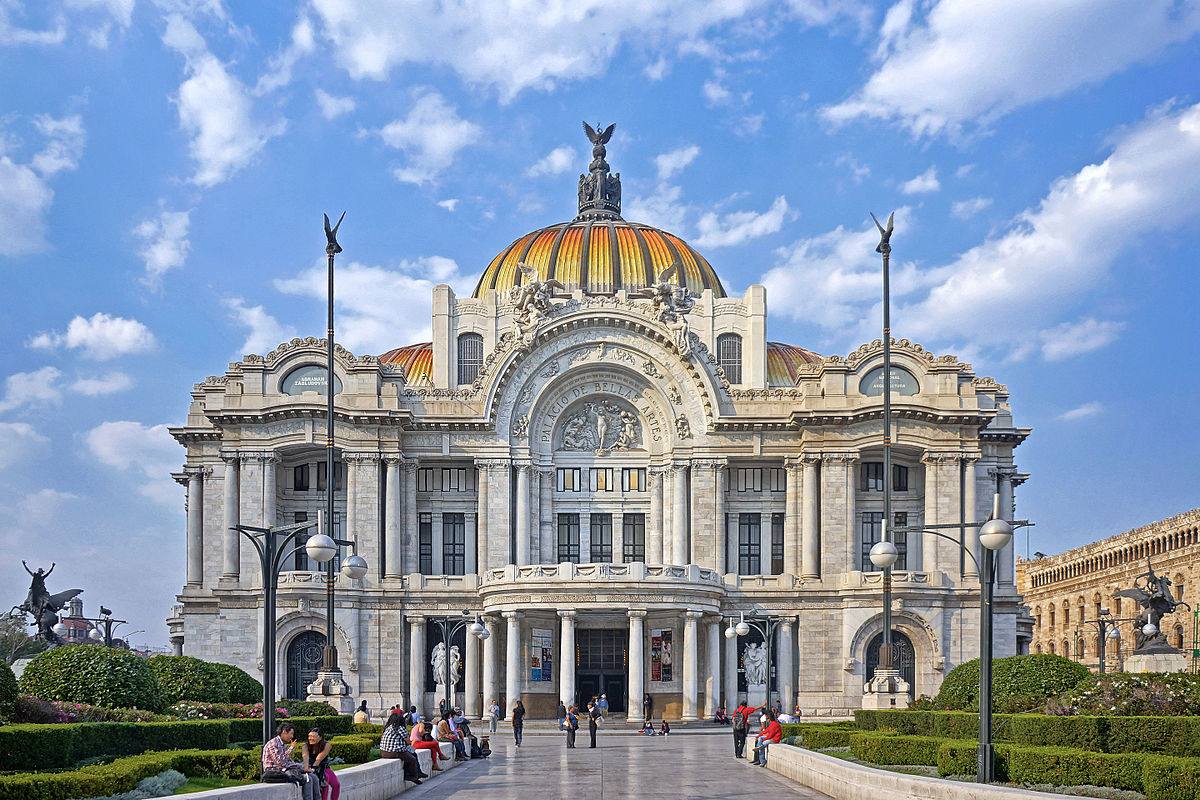 Palace of Arts in Mexico City