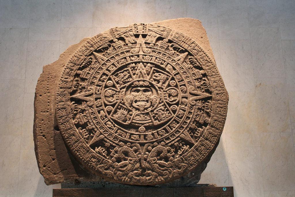 Stone of the Sun, Mexico City