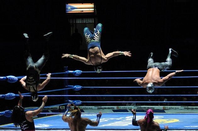 Lucha Libre in la Arena Mexico, Mexico City