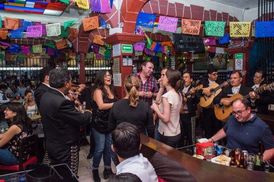 Tenampa Cantina in Garibaldi, Mexico City