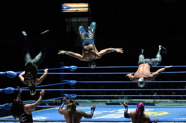 Lucha Libre en la Arena México