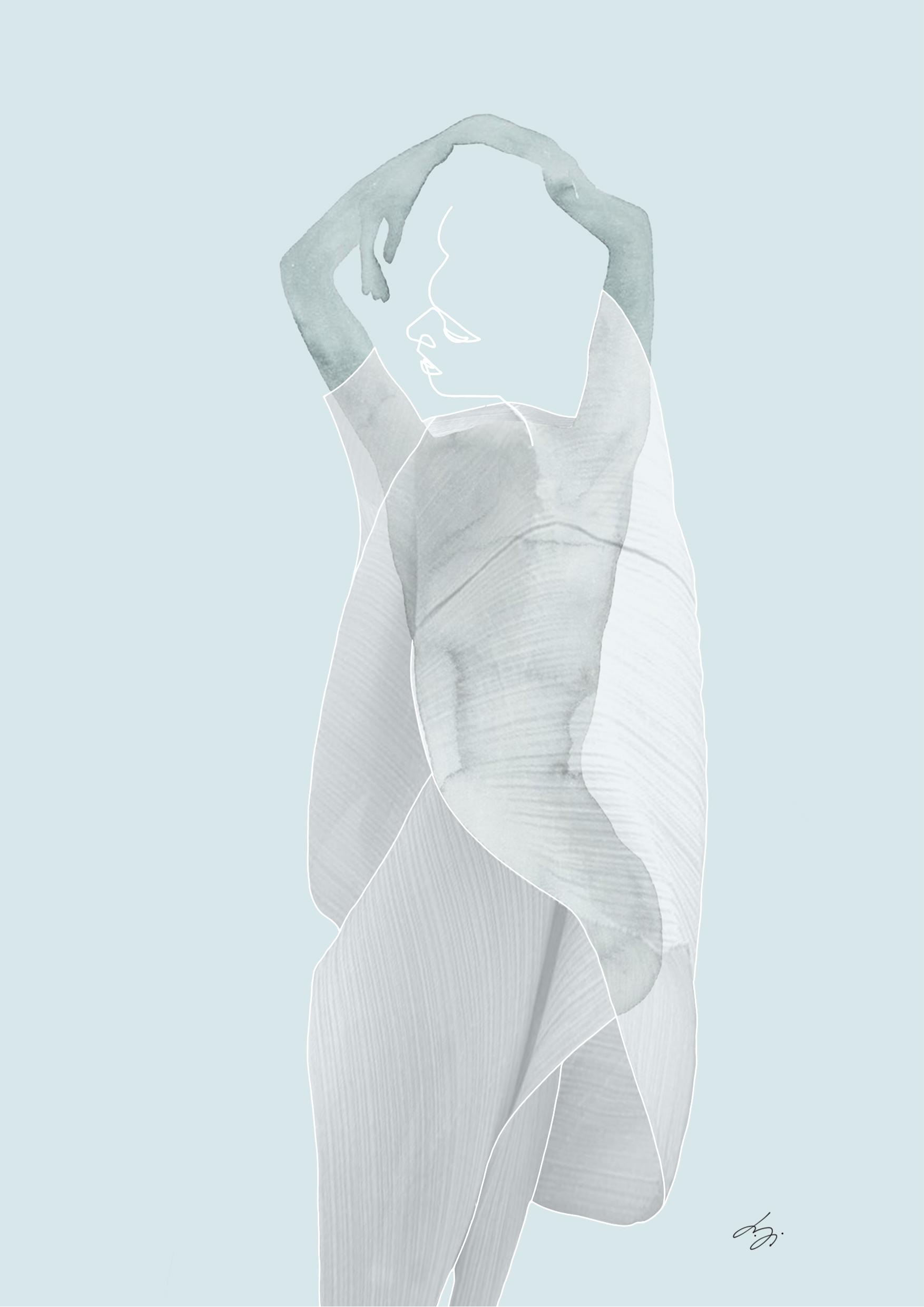 Costume illustration portraying Ianna