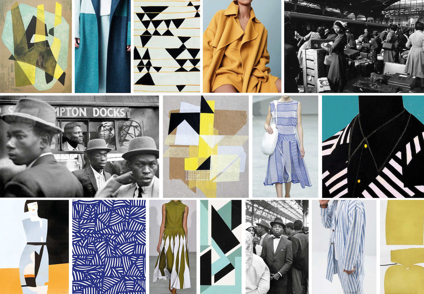 Visual research,various designers and artists