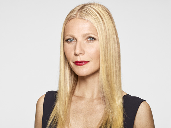 Gwyneth Paltrow is an example of a celeb with an oval face