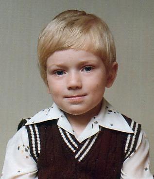 Looking stylish aged 3