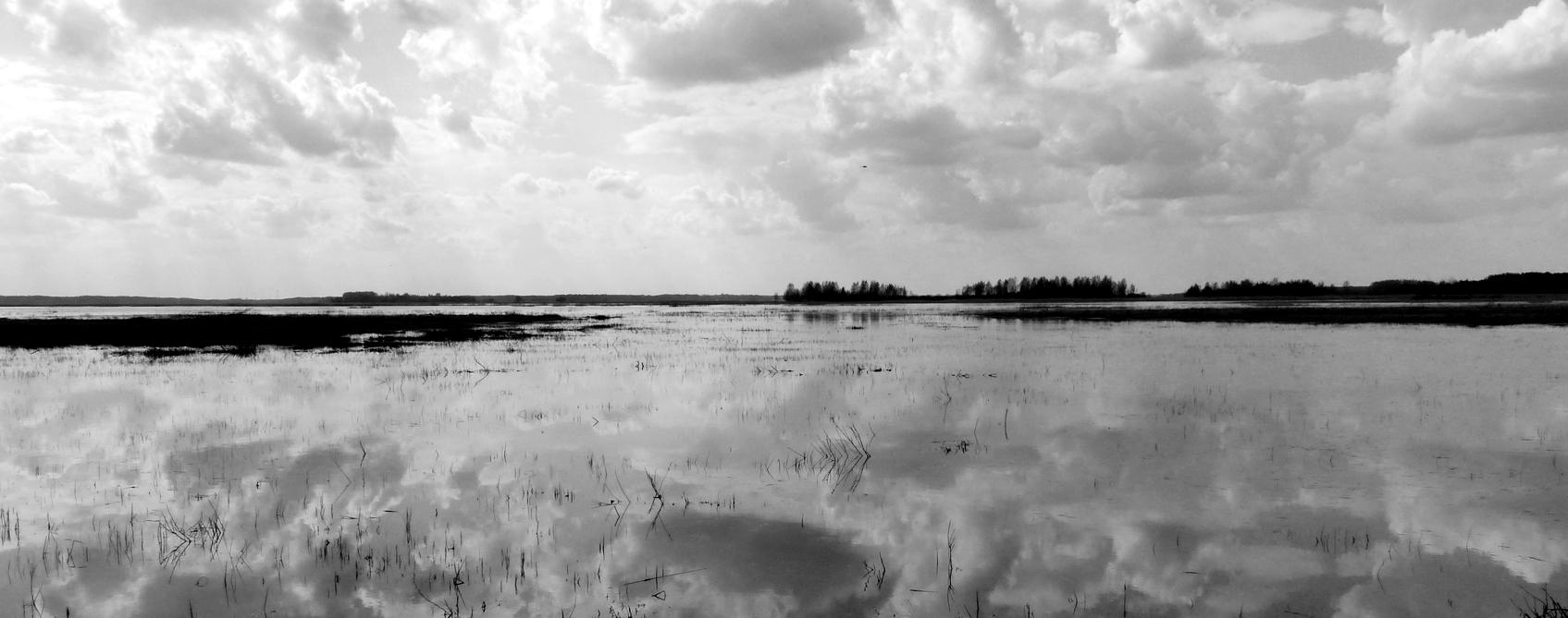 Big skies at Siemianowka Reservoir.
