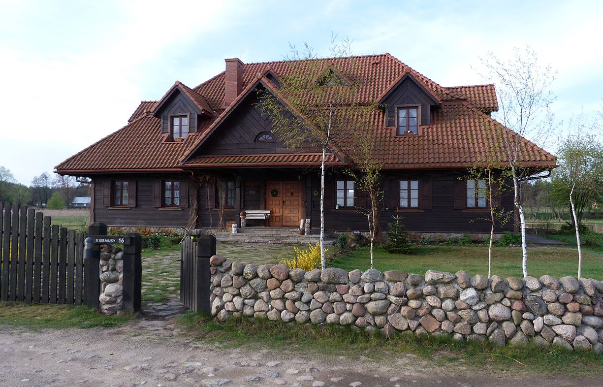 Guest house at Kiermusy