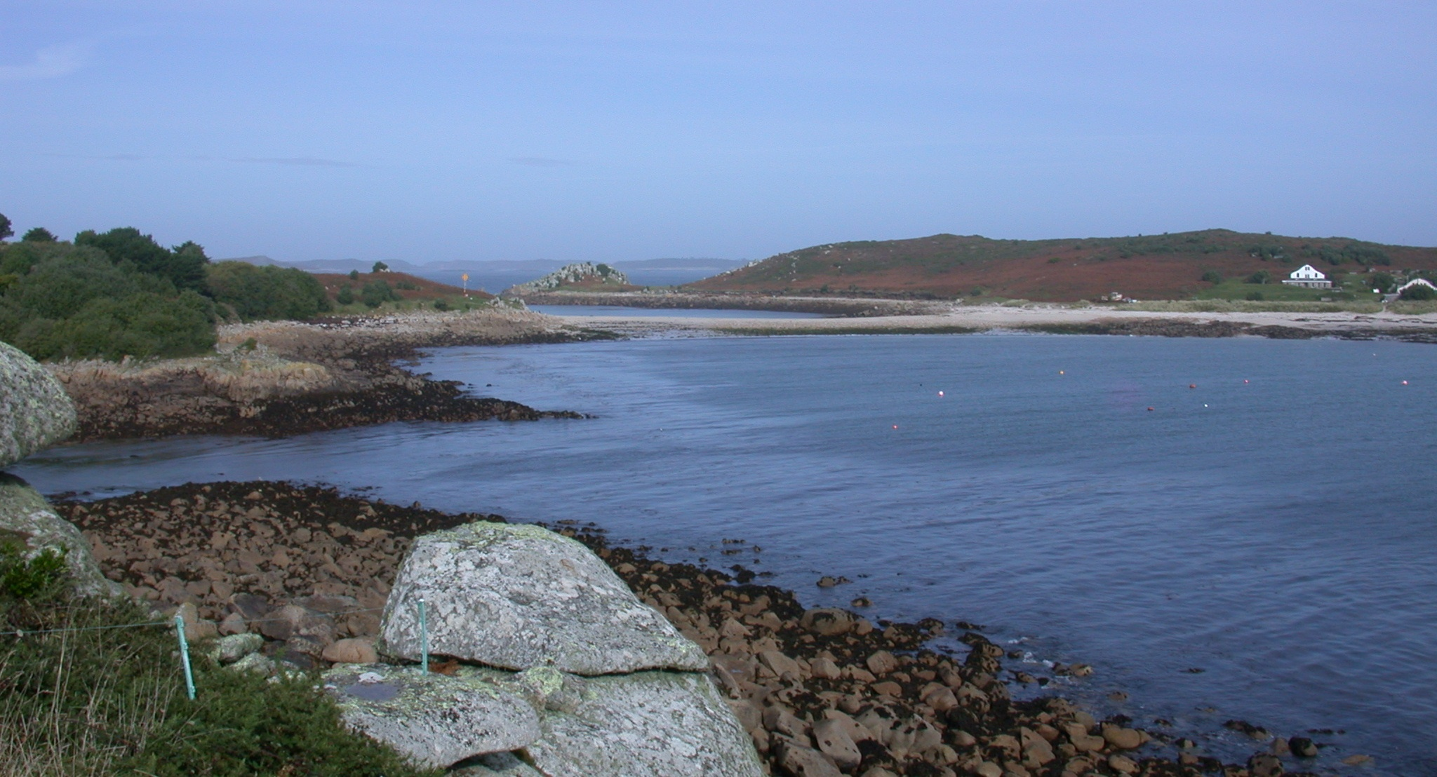 St. Agnes and Gugh - the most South-westerly part of the UK