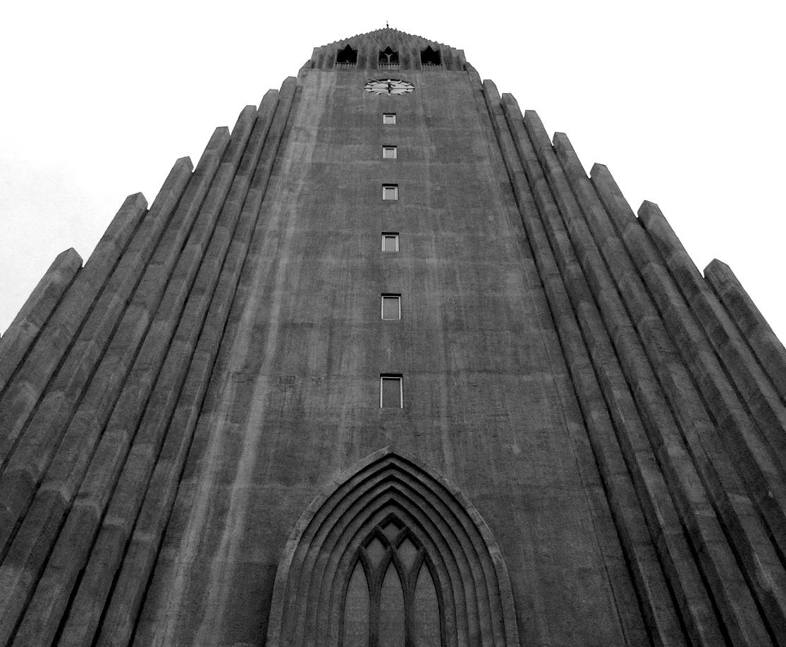 Reykjavik Cathedral in October