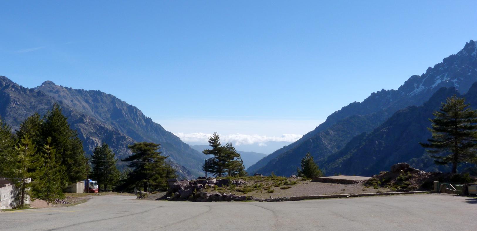 Haute Asco Ski Centre car park