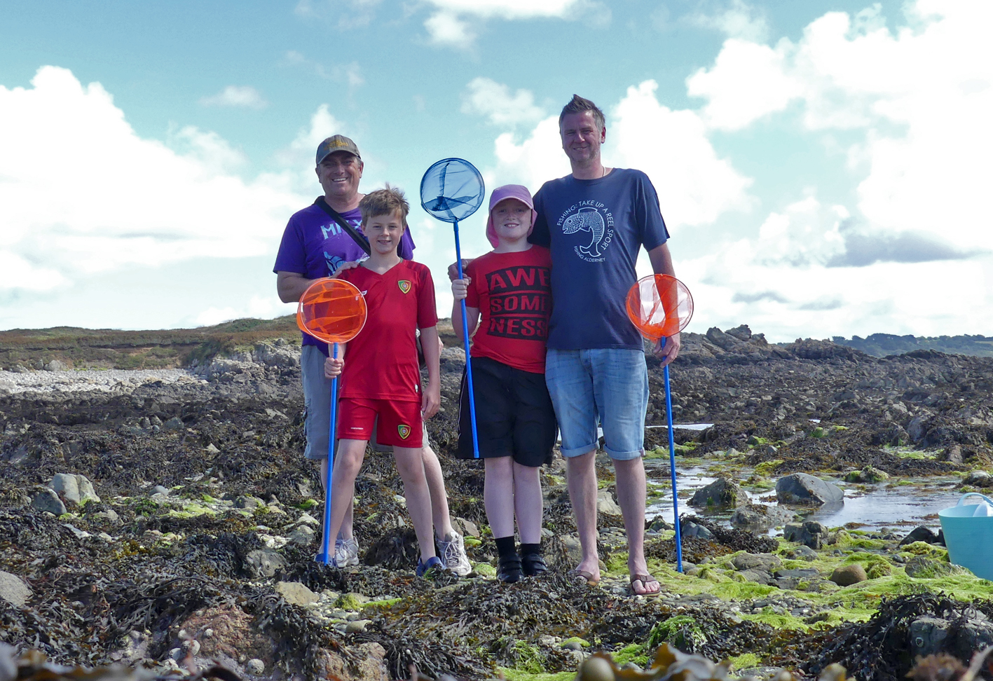 """The Rockpool Ninjas"" - Lihou Causeway, 8 Aug 17"