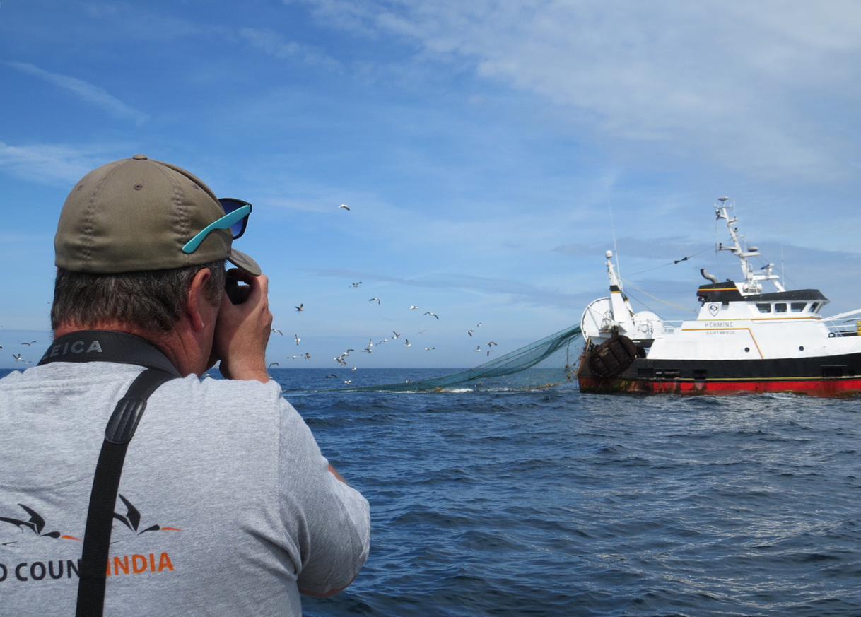 investigating a trawler