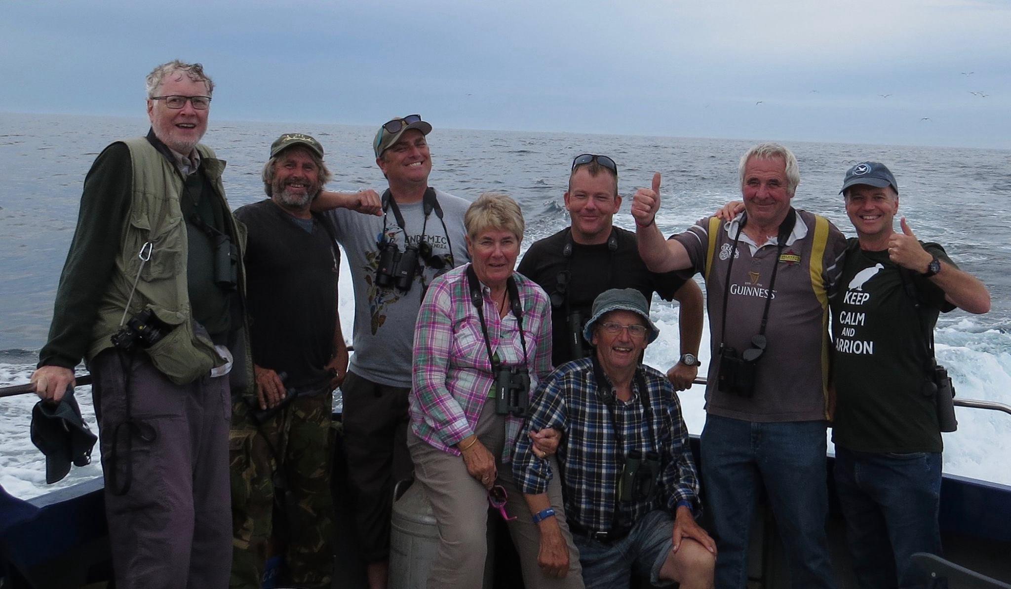 The Wilson's Crew - (L to R) - Julian Medland, Mark Guppy, Mark Lawlor, Jill Froome, Jamie Hooper, Vic Froome, Chris Mourant, Wayne Turner
