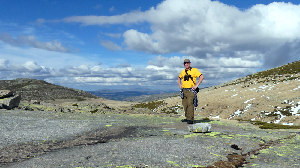 The highest point we walked to at Plataforma de Gredos, 14 Apr 19