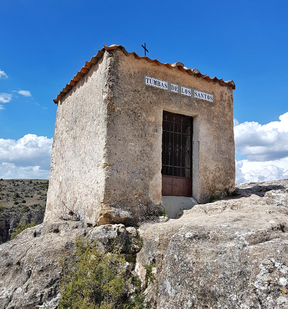 """Tombs of the Saints"" - Hermitage de San Fructus, Sepulveda, 15 Apr 19"
