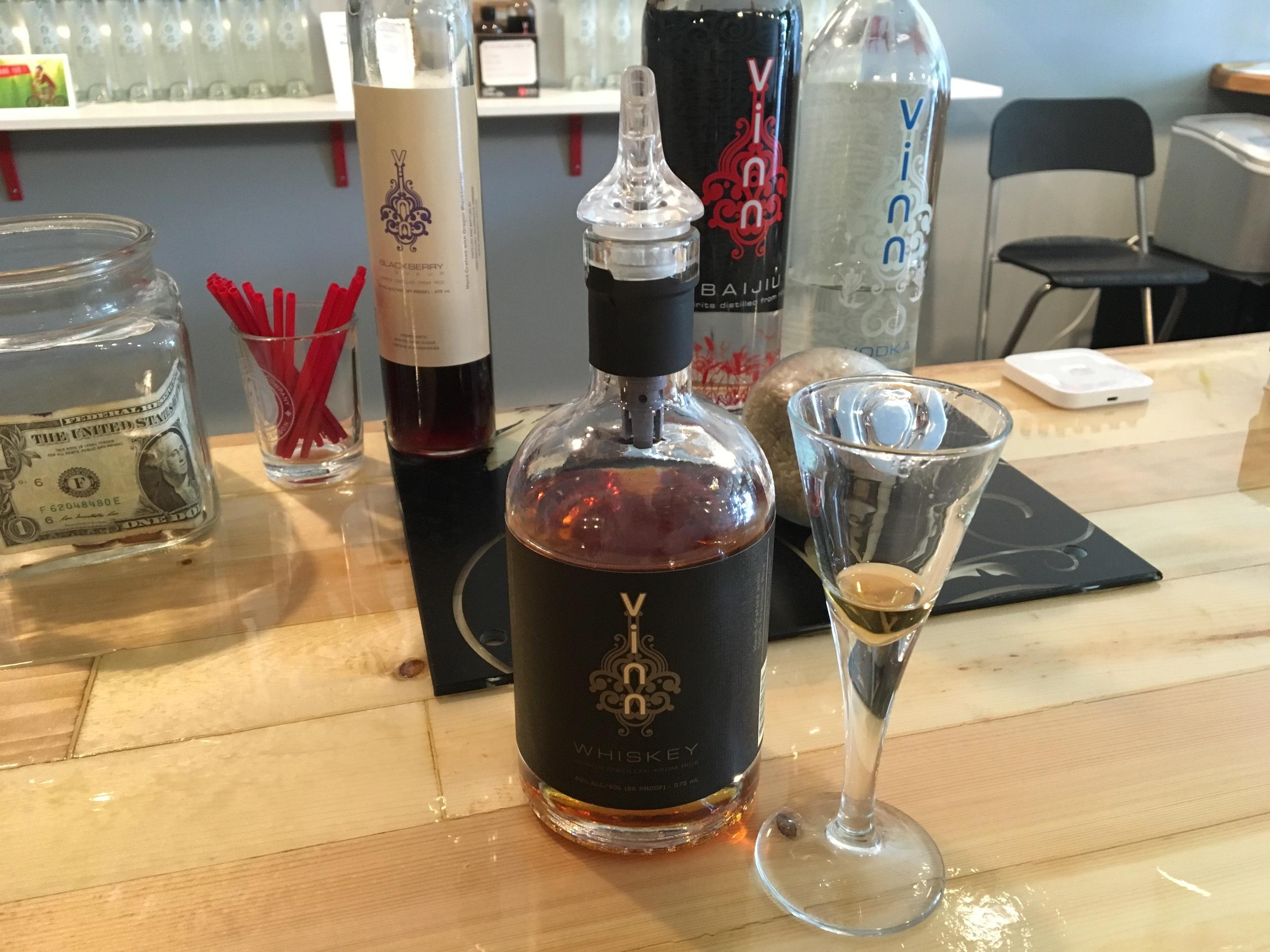 Baiju-based Whiskey from Vinn Distillery.