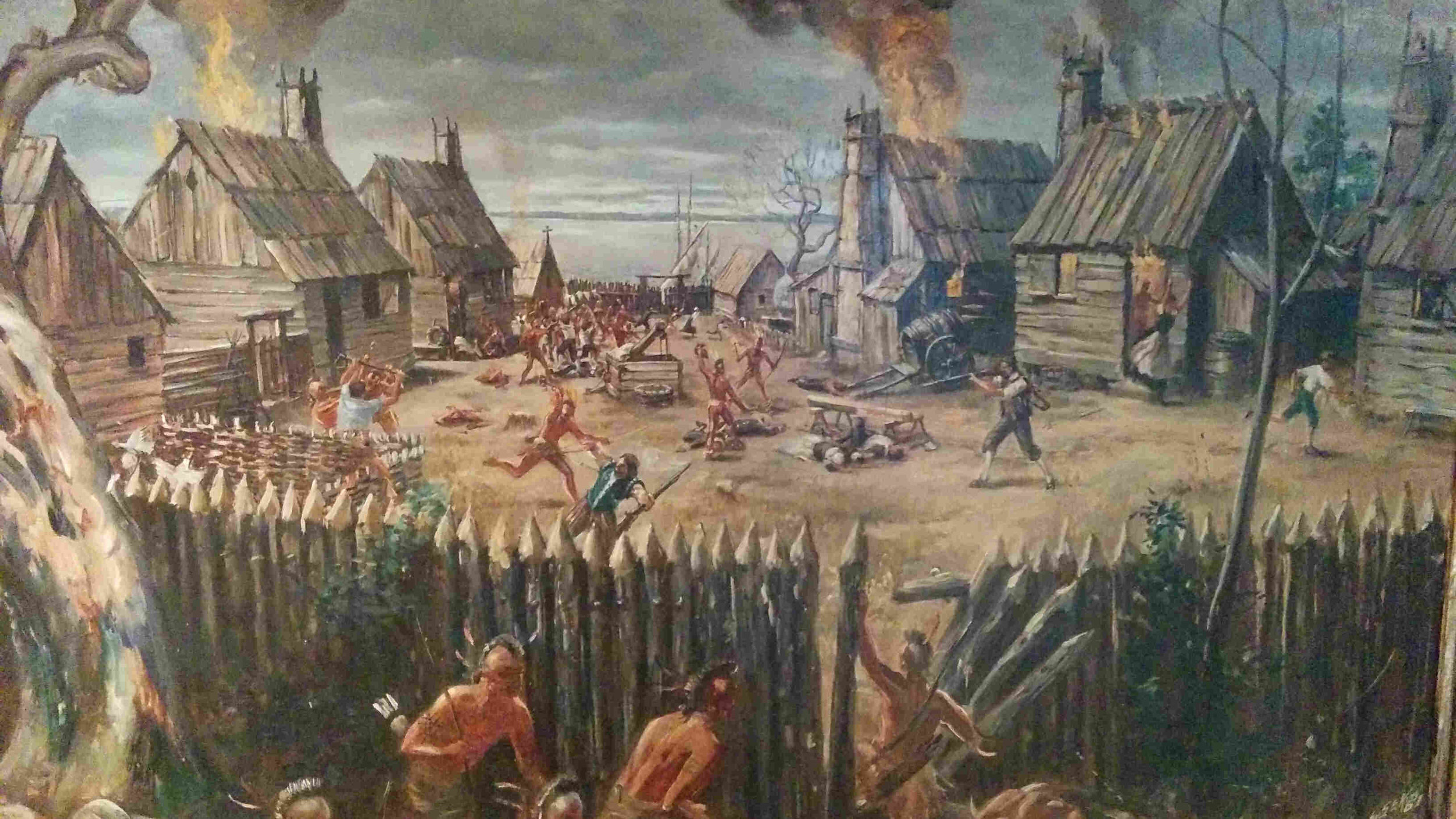 Indian Massacre of 1622 (Reminds you of something from Parks and Recreation doesn't it)