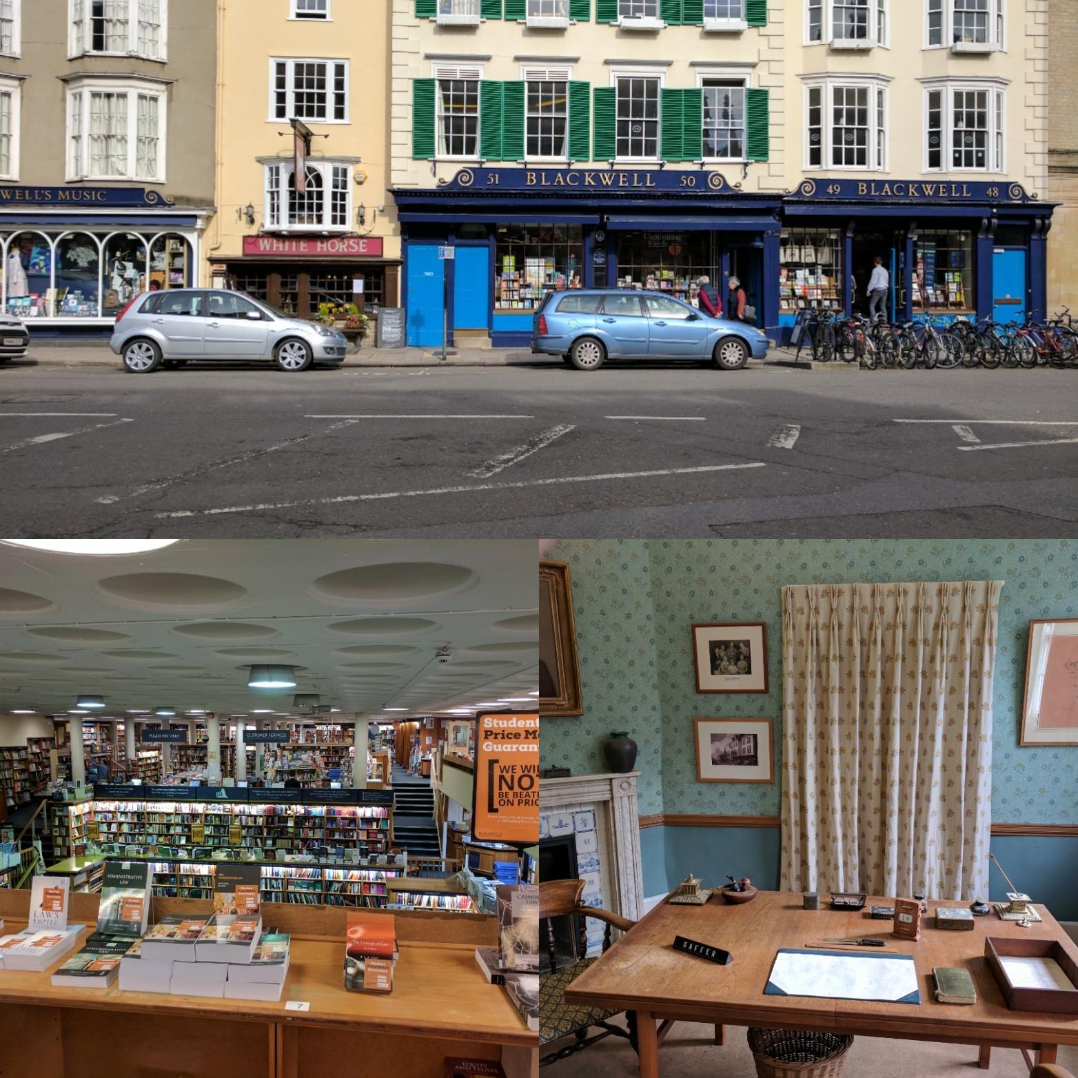 Blackwells Bookstore Oxford UK