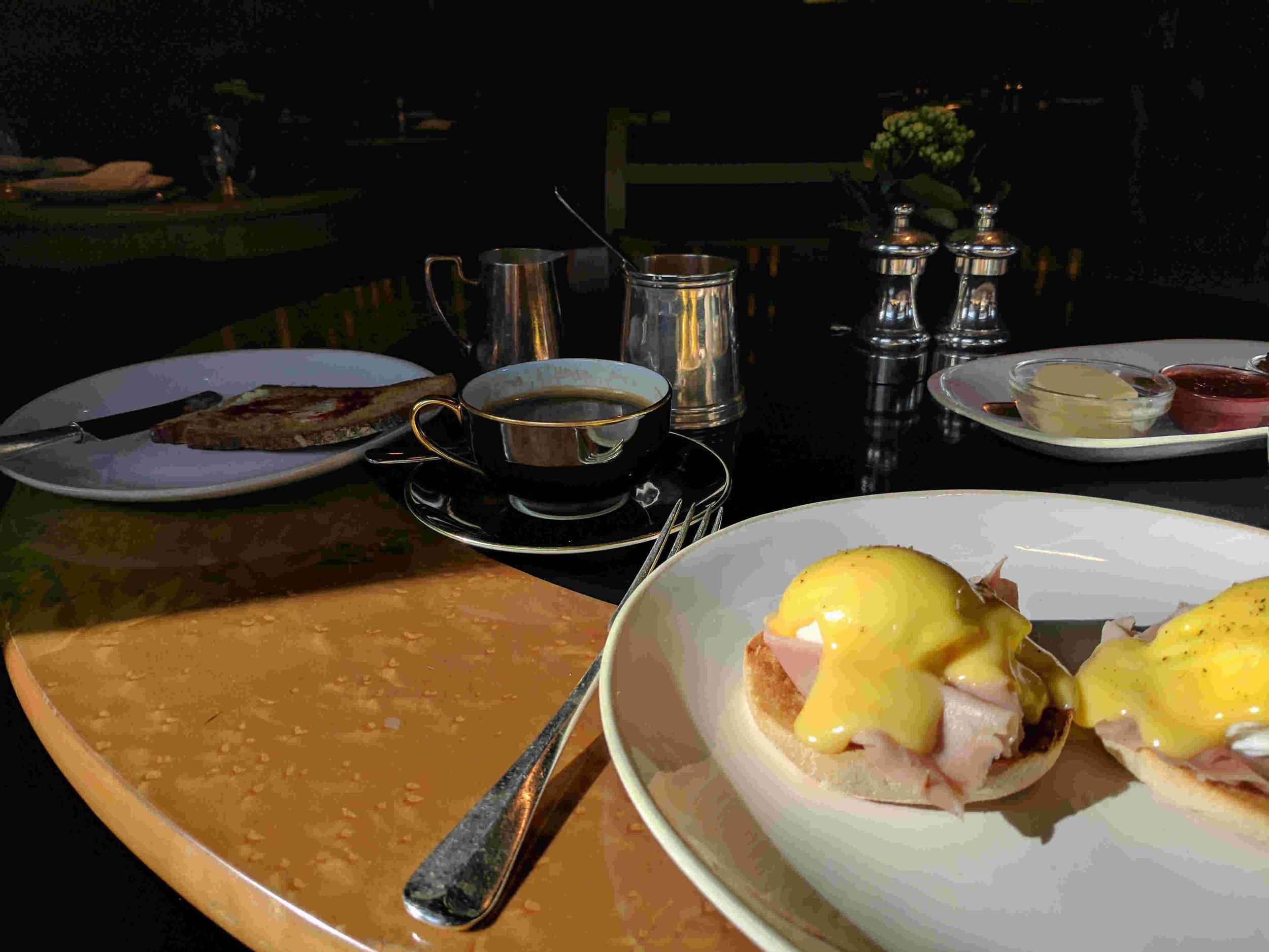 Breakfast at Blakes Hotel