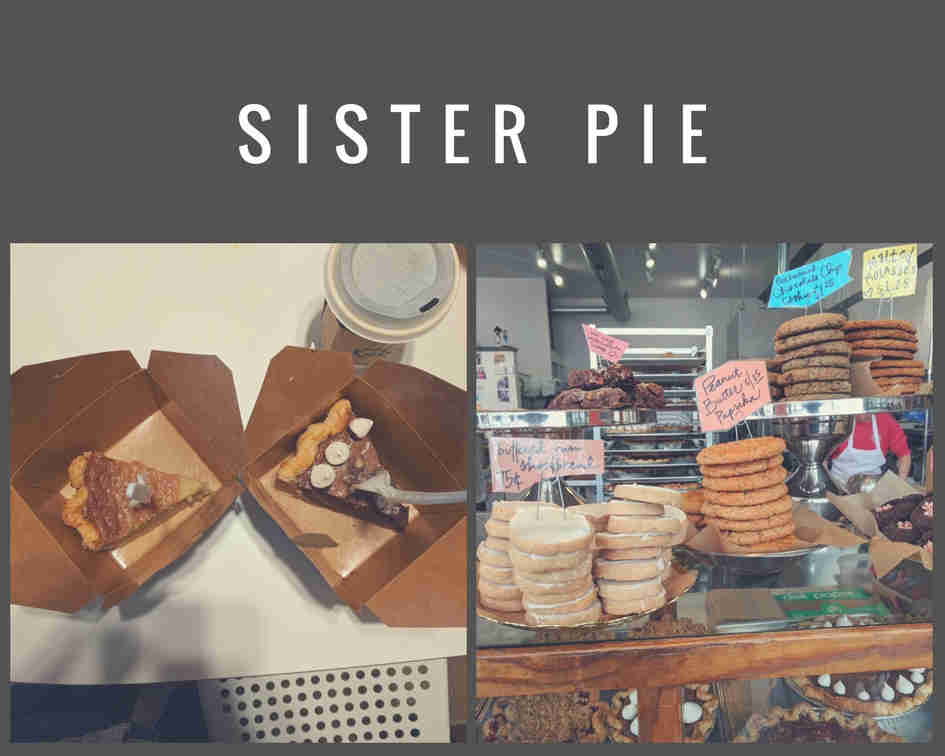 Pastries at Sister Pie Detroit