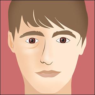 Decreased lower face width.