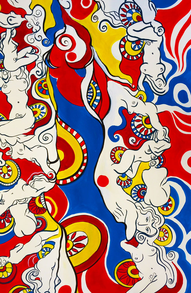 red matisse for textile