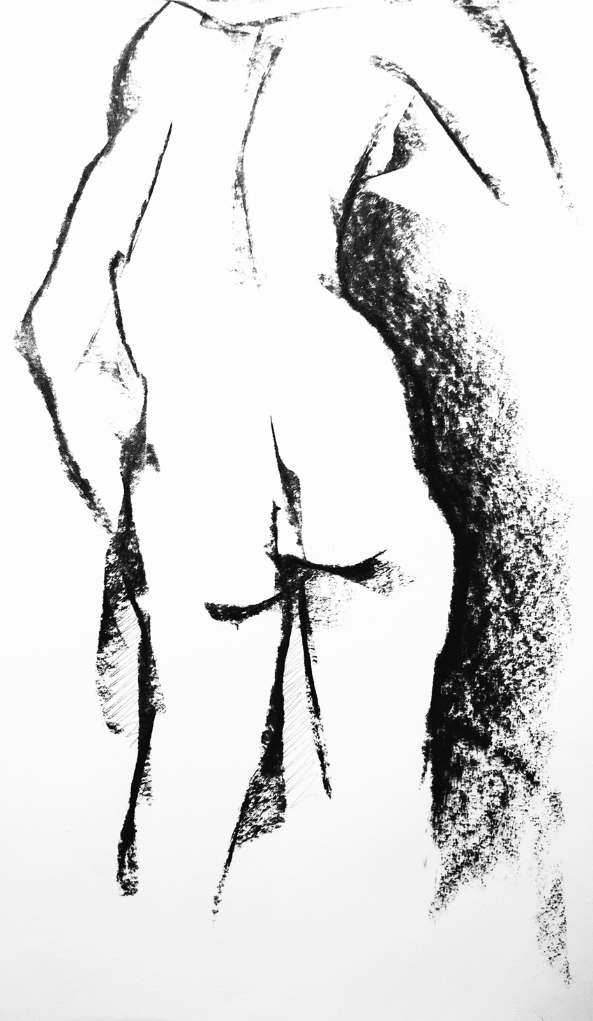 pencil nude