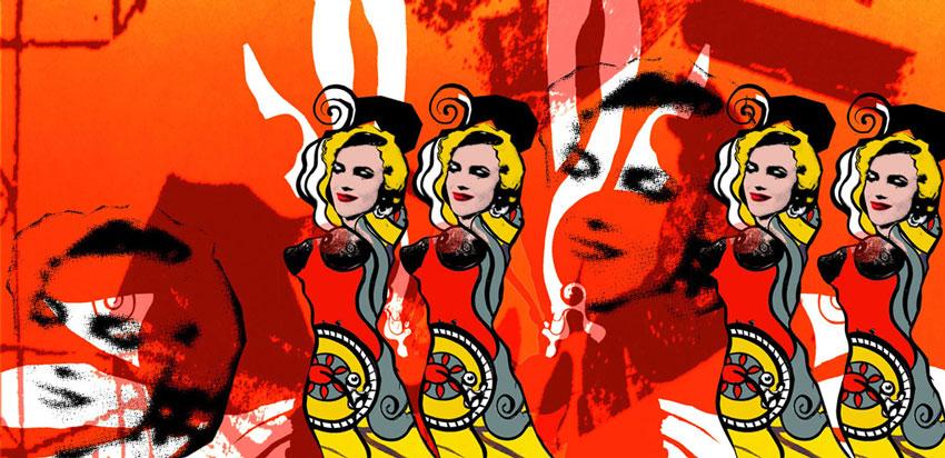 crazy orange with marilyns