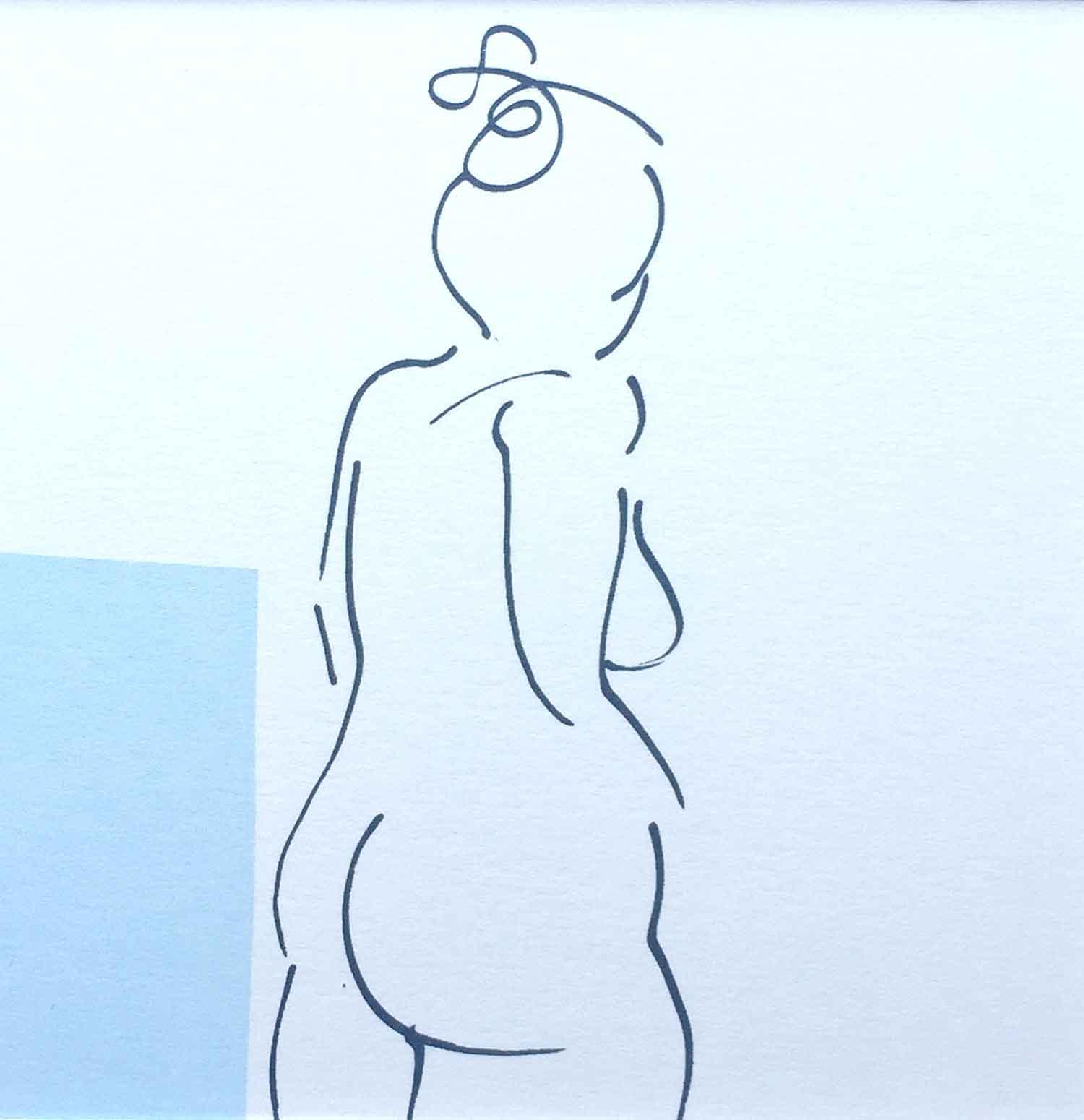 series three nude blue