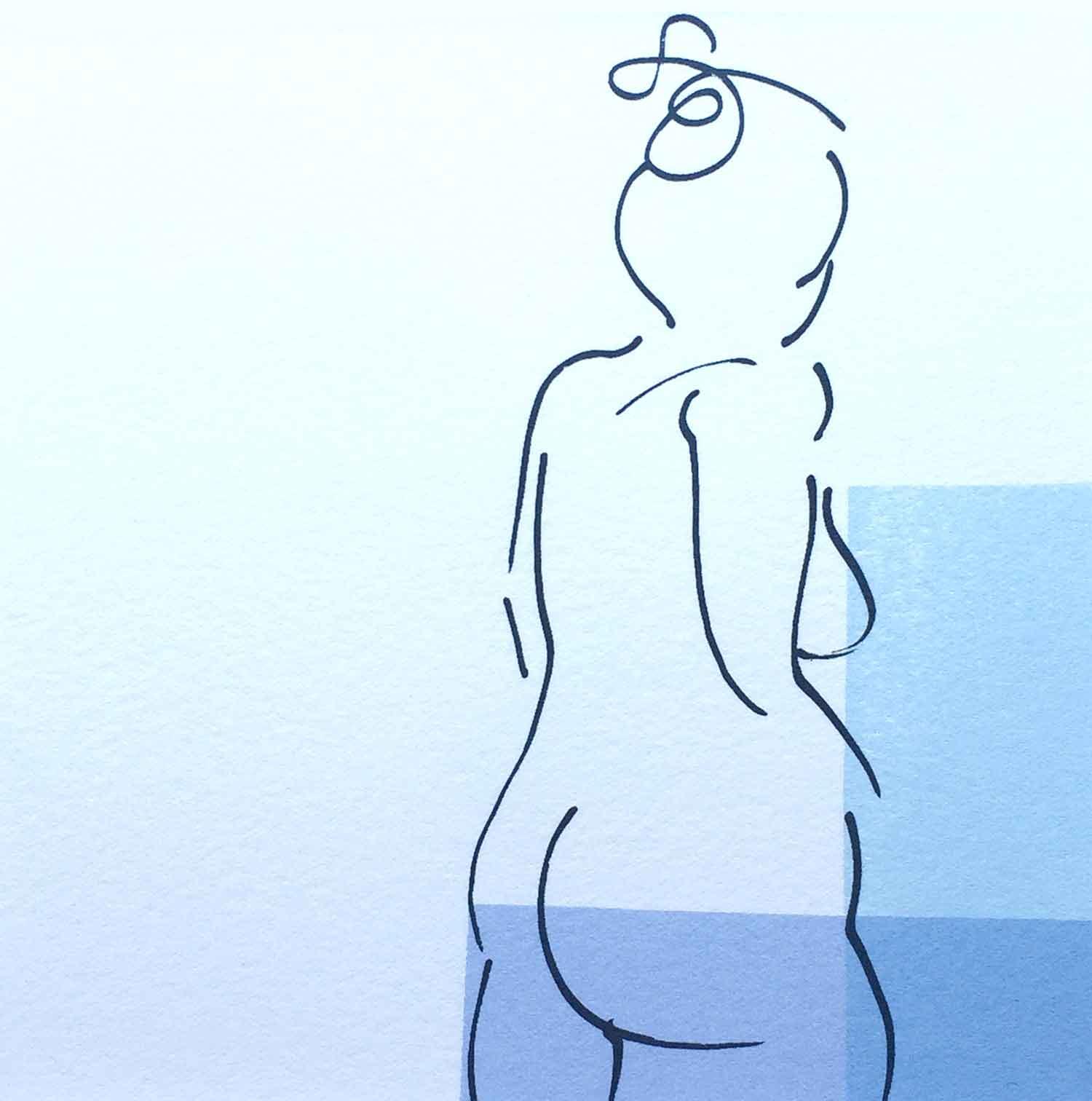 series three nude blues