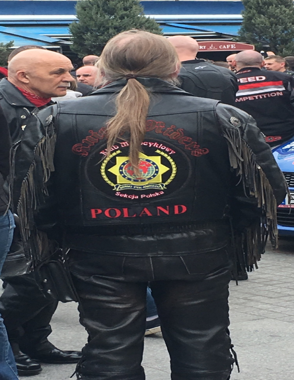This dude must super-love Poland.