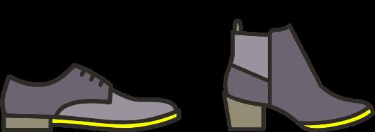 Shoe sole repairs