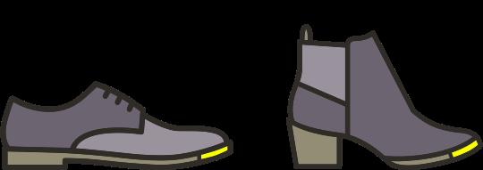 Shoe toe piece repairs