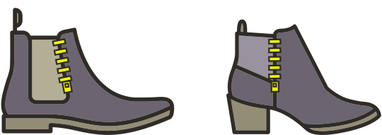 Shoe zipper repairs