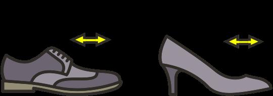 Shoe stretching repairs