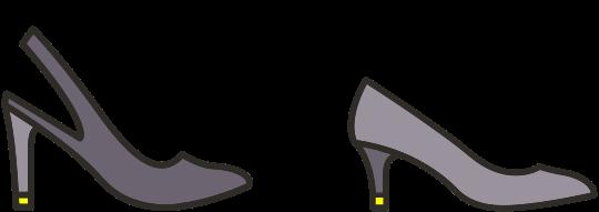 Shoe heel tip repair