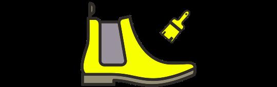 Boot dye / recolouring