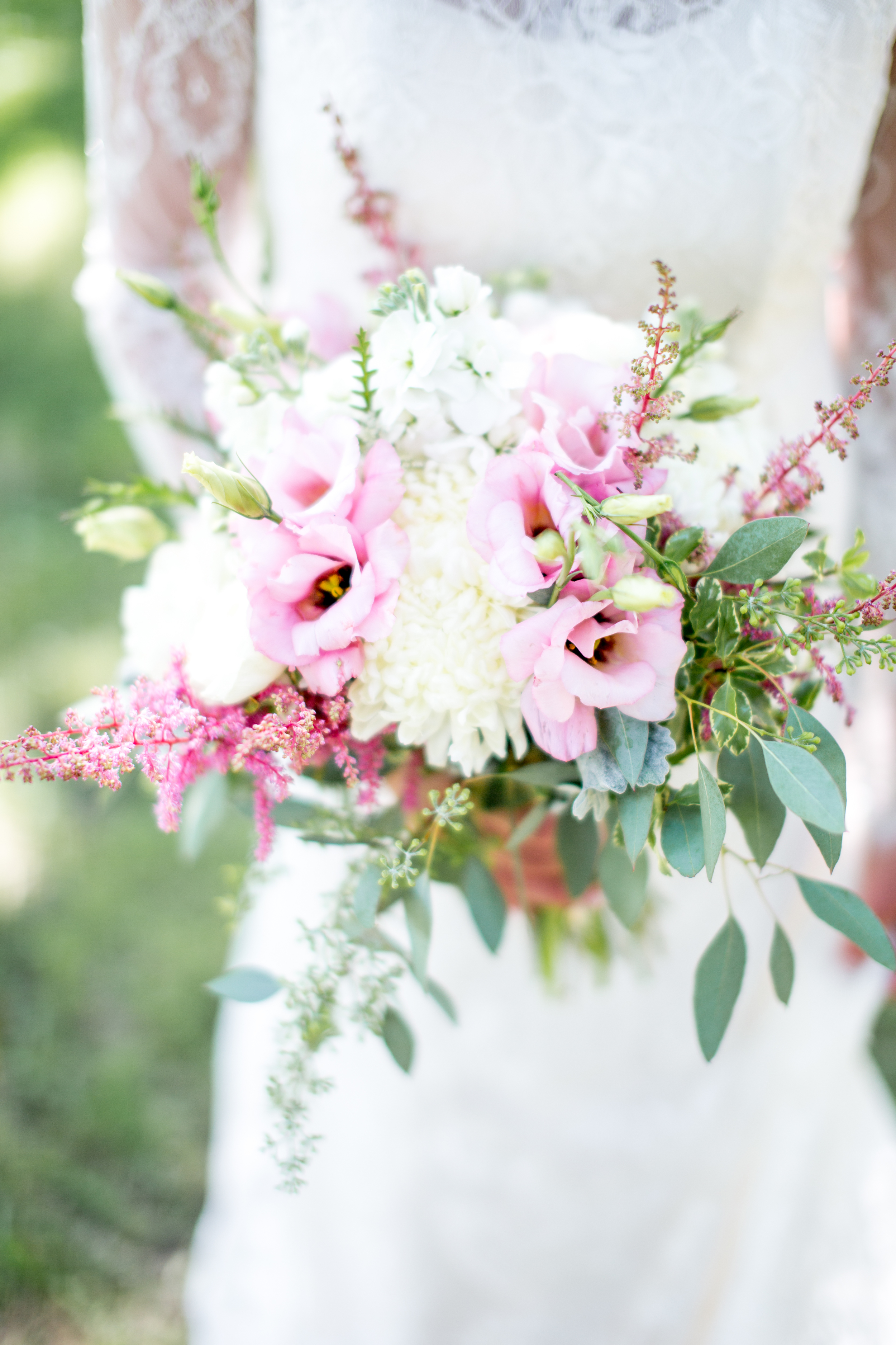 blush bride bouquet